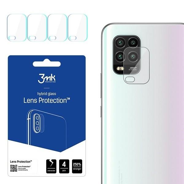 Folie Sticla Nano Glass 3mk Pentru Camera Pentru Xiaomi Mi 10 Lite 5g Transparenta, 4 Buc In Pachet imagine itelmobile.ro 2021