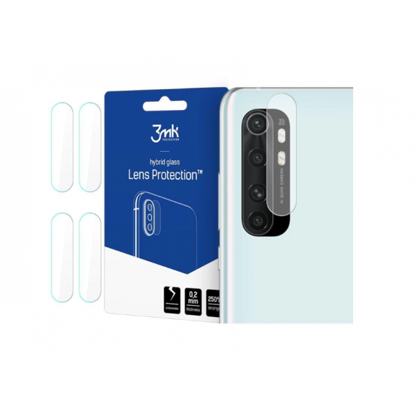 Folie Sticla Nano Glass 3mk Pentru Camera Pentru Xiaomi Mi Note 10 Lite, Transparenta, 4 Buc In Pachet imagine itelmobile.ro 2021