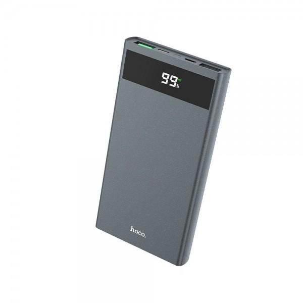 Baterie Externa Hoco 10.000mah Power Delivery Pd + Qc 3.0 Cu Ecran Lcd -j49,gri imagine itelmobile.ro 2021