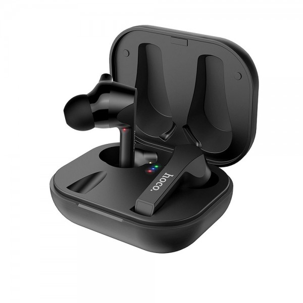 Casti Audio Wireless Hoco Es34 Pleasure Tws ,carcasa Cu Funtie De Incarcare ,negru imagine itelmobile.ro 2021