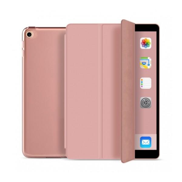 Husa Upzz Tech Smartcase Ipad 10.2 2019 Rose Gold A2197, A2200, A2198, A2199 imagine itelmobile.ro 2021