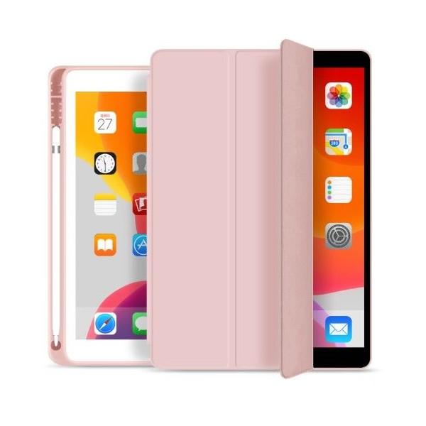 Husa Upzz Tech Smartcase Sc Pen Ipad 10.2 2019 Pink A2197, A2200, A2198, A219 imagine itelmobile.ro 2021