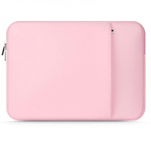 Husa Upzz Tech Protect Neopren Compatibila Cu Laptop 14 Inch , Roz imagine itelmobile.ro 2021