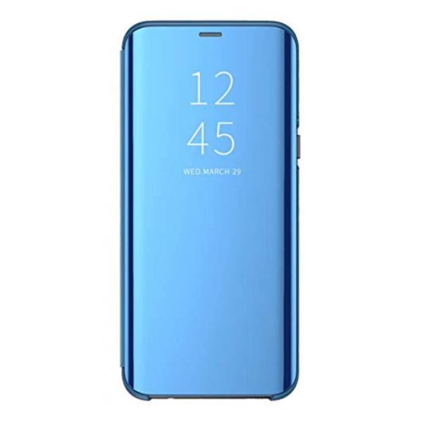 Husa Flip Cover Upzz Mirror Compatibila Cu Samsung Galaxy Note 20 Albastru imagine itelmobile.ro 2021