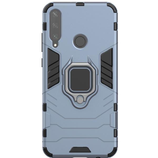 Husa Spate Upzz Ring Armor Hybrid Huawei Y6p -albastru imagine itelmobile.ro 2021