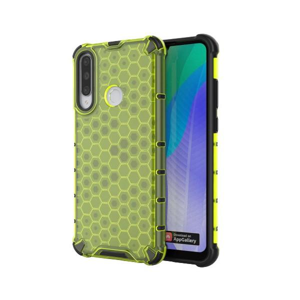 Husa Uppz Honeycomb Huawei Y6p Antishock -verde imagine itelmobile.ro 2021