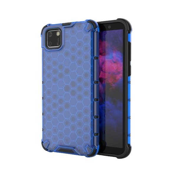 Husa Uppz Honeycomb Huawei Y5p Antishock -albastru imagine itelmobile.ro 2021
