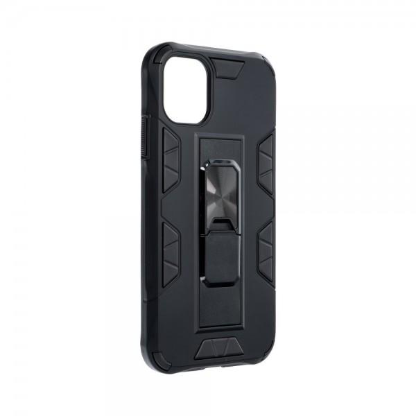 Husa Premium Upzz Defender Antishock Compatibila Cu iPhone 11 ,negru -stand Magnetic Pe Spate imagine itelmobile.ro 2021