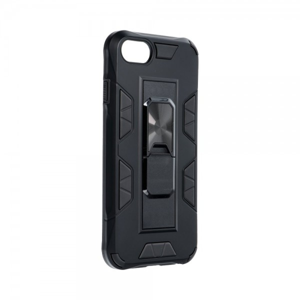 Husa Premium Upzz Defender Antishock Compatibila Cu iPhone 7/8/ Se2 ( 2020 ) ,negru -stand Magnetic Pe Spate imagine itelmobile.ro 2021