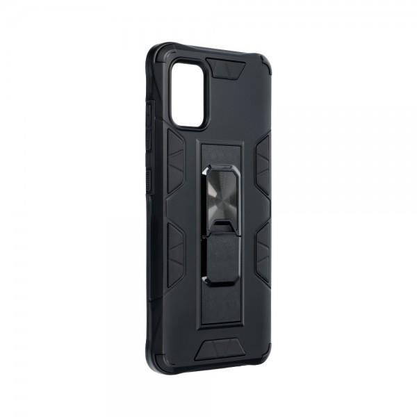 Husa Premium Upzz Defender Antishock Compatibila Cu Samsung Galaxy A51 ,negru -stand Magnetic Pe Spate imagine itelmobile.ro 2021