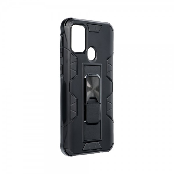 Husa Premium Upzz Defender Antishock Compatibila Cu Samsung Galaxy M31 ,negru -stand Magnetic Pe Spate imagine itelmobile.ro 2021