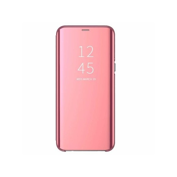 Husa Tip Carte S View Mirror Xiaomi Mi 9t / Mi 9t Pro Rose Gold imagine itelmobile.ro 2021