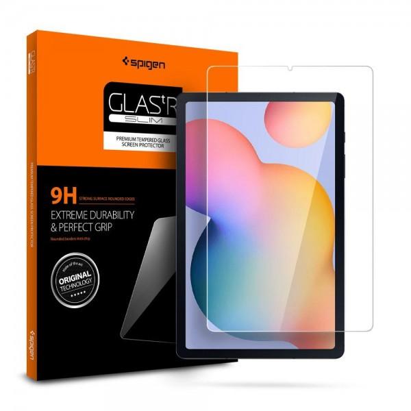 Folie Premium Originala Spigen Glass Tr Slim Compatibil Cu Samsung Galaxy Tab S6 Lite 10.4inch Model P610/0615 imagine itelmobile.ro 2021