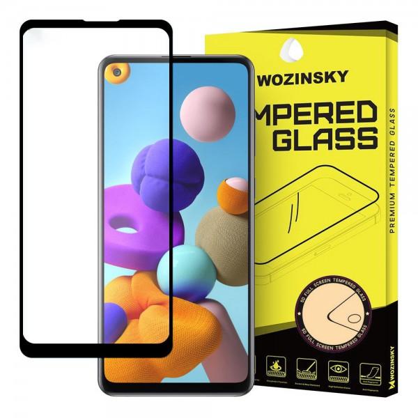 Folie Sticla Full Cover Full Glue Wozisky Samsung Galaxy A21s Cu Adeziv Pe Toata Suprafata Foliei Neagra imagine itelmobile.ro 2021