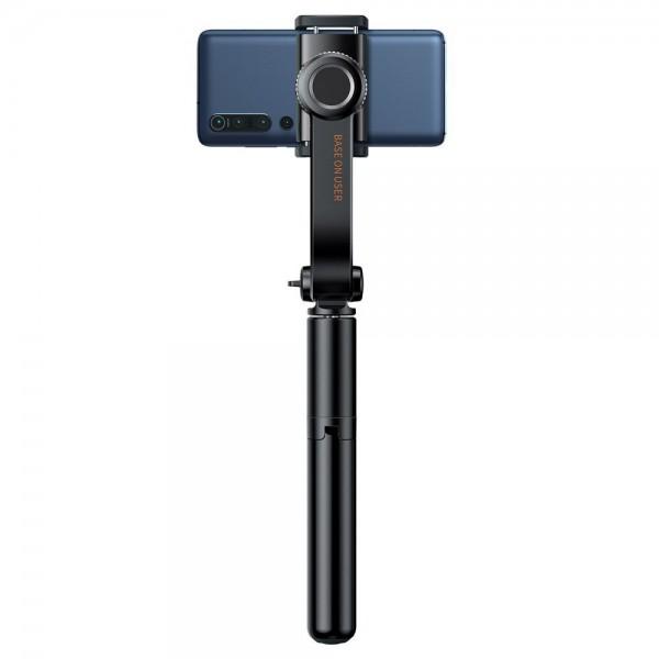 Selfie Stick Original Baseus Uniaxial Gimbal Cu Functie De Tripod ,bluetooh Cu Telecomanda Negru imagine itelmobile.ro 2021