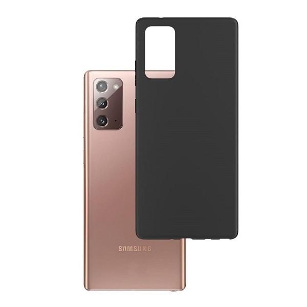 Husa Premium 3mk Compatibila Cu Samsung Galaxy Note 20 ,negru Matte Slim imagine itelmobile.ro 2021