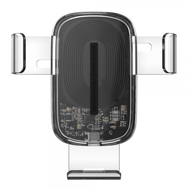 Suport Incarcator Auto Baseus Explore Quick Charge Wireless Qi 15w ,compatibil Cu Samsung ,huawei ,iphone ,xiaomi -wxyl-k02 imagine itelmobile.ro 2021