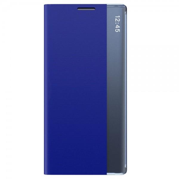 Husa Flip Cover Smart Sleep Upzz Compatibila Cu Xiaomi Redmi Note 8 Pro ,albastru imagine itelmobile.ro 2021