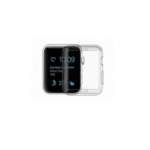 Carcasa Usams Silicon ,compatibila Cu Apple Watch 4/5 (44mm), Transparenta - Iw486bh03 imagine itelmobile.ro 2021