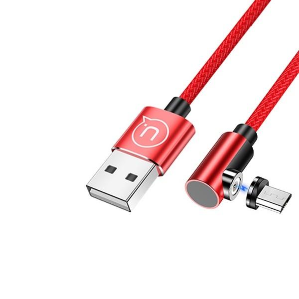 Cablu Incarcare Usams Magnetic 1m ,microusb Cu Mufa Detasabila Magnetica ,rosu -u54 Sj446usb02 imagine itelmobile.ro 2021
