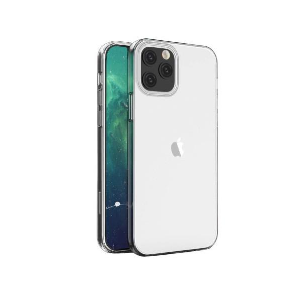 Husa Upzz Spate Ultra Slim iPhone 12 , 0,5mm ,silicon ,transparenta imagine itelmobile.ro 2021