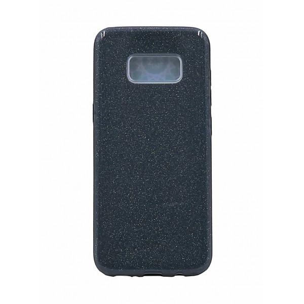 Husa Spate Upzz Shiny Lux Samsung S8 Negru imagine itelmobile.ro 2021