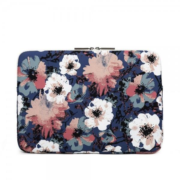 Husa Upzz Tech Canvaslife Sleeve Compatibila Cu Laptop / Macbook 15-16 Inch Camellia imagine itelmobile.ro 2021