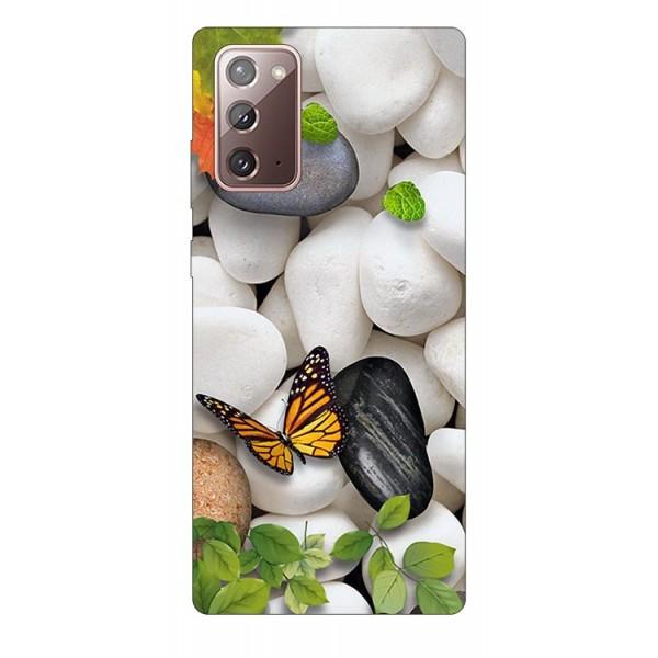 Husa Silicon Soft Upzz Print Samsung Galaxy Note 20 Model Zen imagine itelmobile.ro 2021