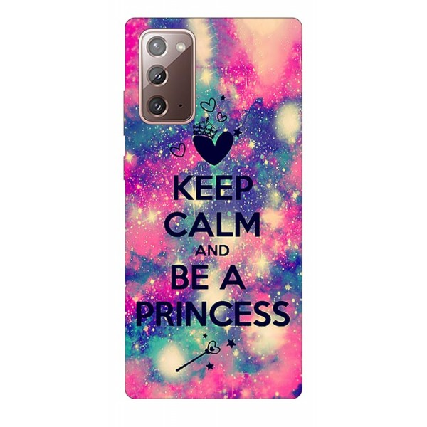 Husa Silicon Soft Upzz Print Samsung Galaxy Note 20 Model Be Princess imagine itelmobile.ro 2021