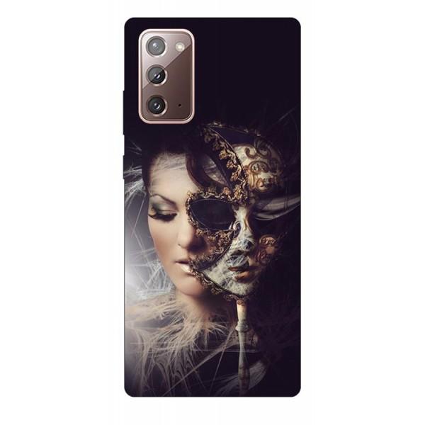 Husa Silicon Soft Upzz Print Samsung Galaxy Note 20 Model Carnaval imagine itelmobile.ro 2021