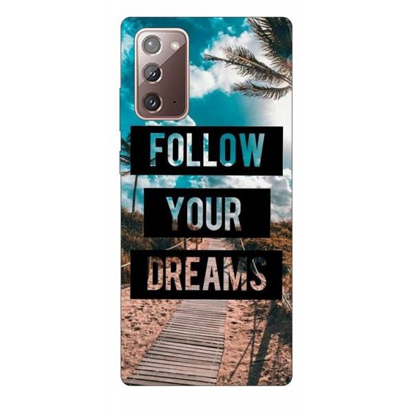 Husa Silicon Soft Upzz Print Samsung Galaxy Note 20 Model Dream imagine itelmobile.ro 2021