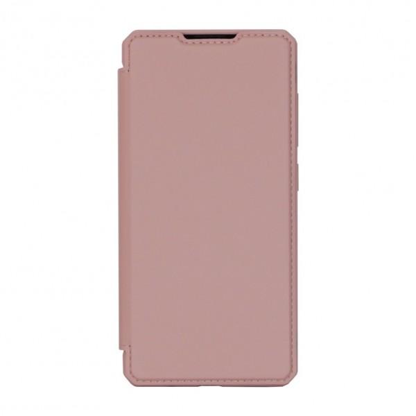Husa Premium Duxducis Skin X Flip Cover Samsung Galaxy Note 10 Lite, Roz imagine itelmobile.ro 2021