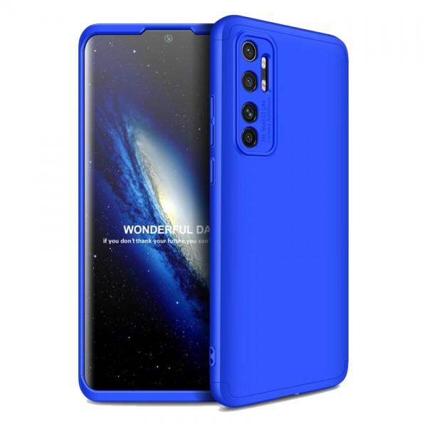 Husa 360 Grade Upzz Protection Xiaomi Mi Note 10 Lite - Albastru imagine itelmobile.ro 2021