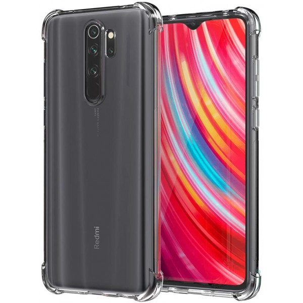 Husa Premium Upzz Roar Anti-shock Tpu Silicon Crystal Clear Xiaomi Redmi Note 8 Pro ,tehnologie Air Cushion imagine itelmobile.ro 2021