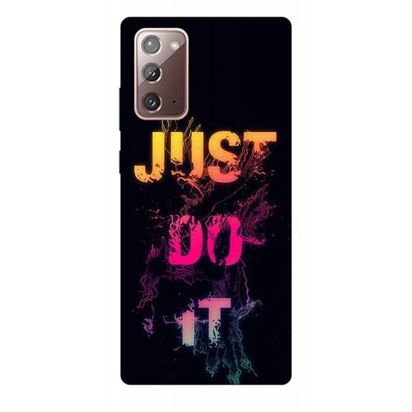 Husa Silicon Soft Upzz Print Samsung Galaxy Note 20 Model Jdi imagine itelmobile.ro 2021