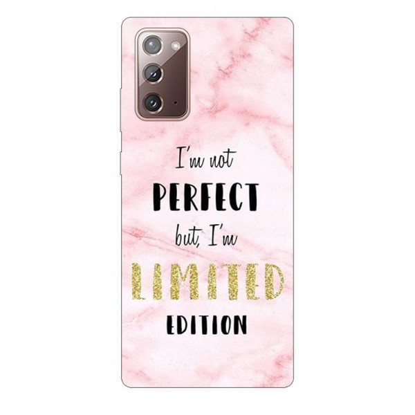 Husa Silicon Soft Upzz Print Samsung Galaxy Note 20 Model Limited Edition 1 imagine itelmobile.ro 2021
