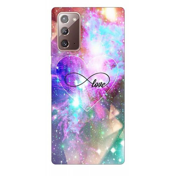 Husa Silicon Soft Upzz Print Samsung Galaxy Note 20 Model Neon Love imagine itelmobile.ro 2021