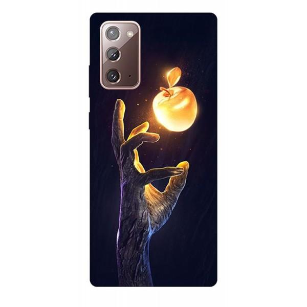 Husa Silicon Soft Upzz Print Samsung Galaxy Note 20 Model Reach imagine itelmobile.ro 2021