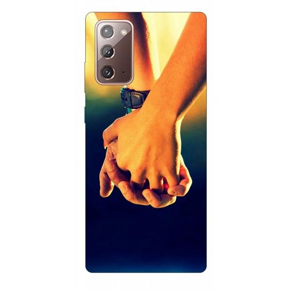 Husa Silicon Soft Upzz Print Samsung Galaxy Note 20 Model Together imagine itelmobile.ro 2021