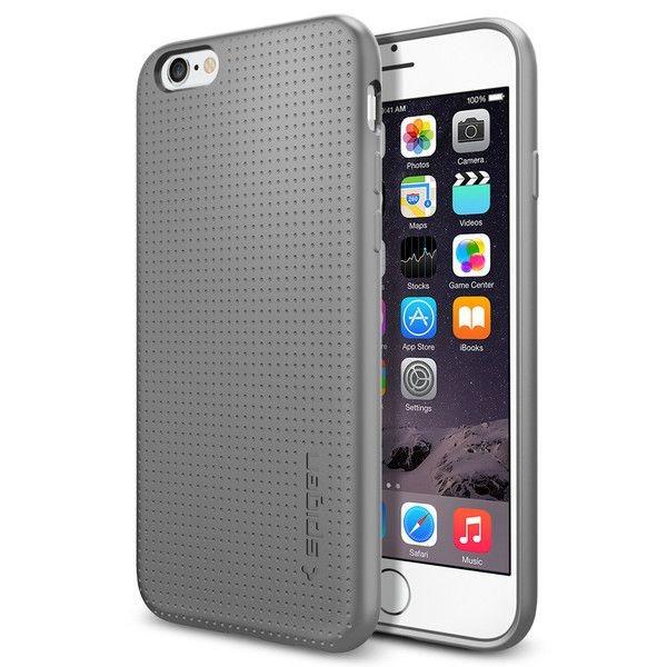 Husa Spate Spigen Liquid Air iPhone 6 / 6s ,gri imagine itelmobile.ro 2021