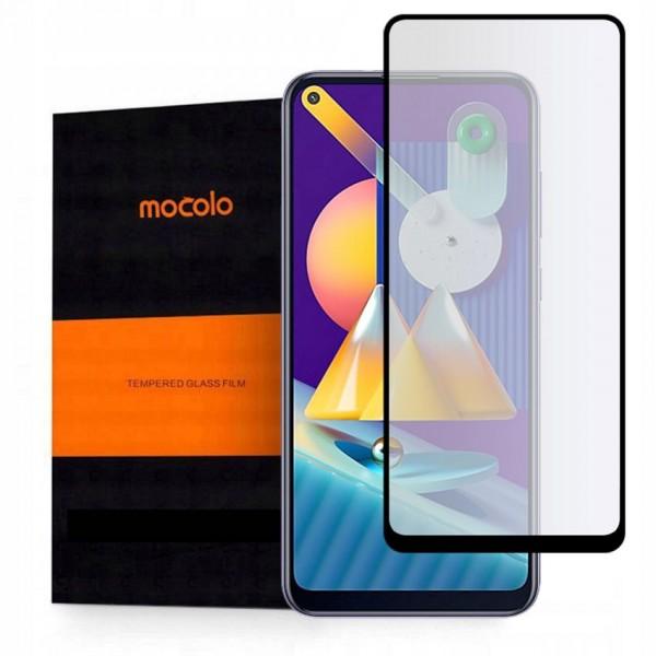 Folie Sticla Securizata Mocolo Samsung Galaxy M11, Full Glue , Full Cover imagine itelmobile.ro 2021