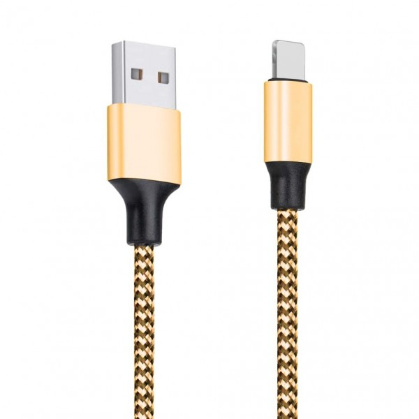 Cablu Date Upzz Textil Type-c Gold ,2a ,1m Lungime imagine itelmobile.ro 2021