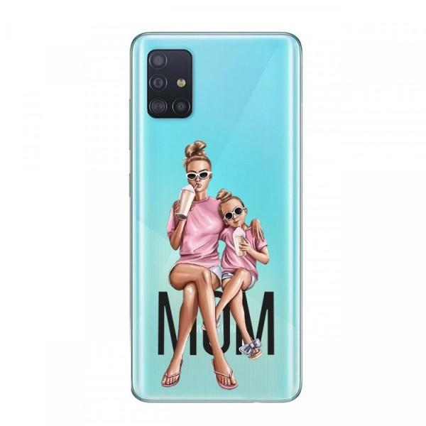 Husa Silicon Soft Upzz Print Samsung Galaxy A51 Model Mom1 imagine itelmobile.ro 2021