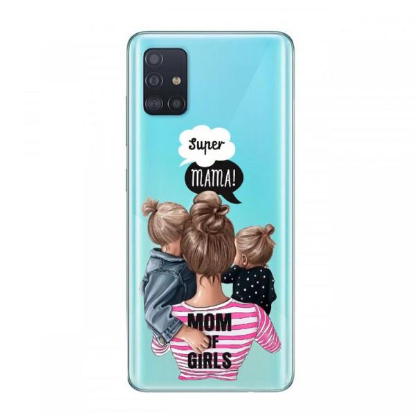 Husa Silicon Soft Upzz Print Samsung Galaxy A71 Model Mom3 imagine itelmobile.ro 2021
