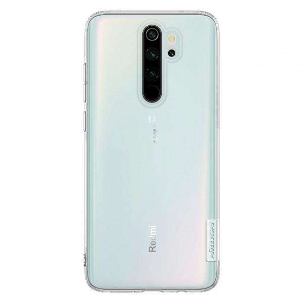 Husa Premium Nillkin Nature Slim Xiaomi Redmi Note 8 Pro Transparenta,cu Tehnologie Air Cushion imagine itelmobile.ro 2021