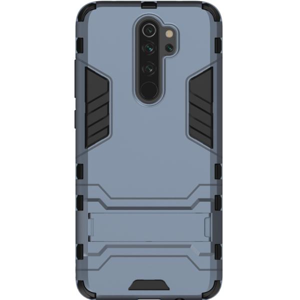 Husa Spate Upzz Kickstand Armor Hybrid Compatibila Cu Xiaomi Redmi Note 8 Pro ,albastru imagine itelmobile.ro 2021