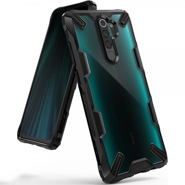 Husa Premium Ringke Fusion X Compatibila Cu Xiaomi Redmi Note 8 Pro ,negru imagine itelmobile.ro 2021