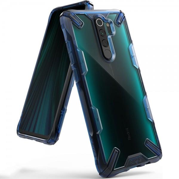 Husa Premium Ringke Fusion X Compatibila Cu Xiaomi Redmi Note 8 Pro ,albastru imagine itelmobile.ro 2021