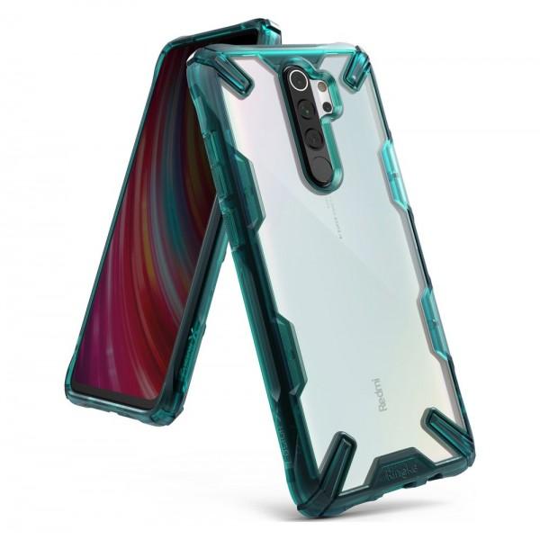 Husa Premium Ringke Fusion X Compatibila Cu Xiaomi Redmi Note 8 Pro ,verde imagine itelmobile.ro 2021