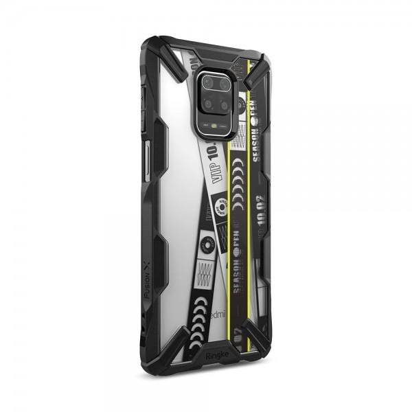 Husa Premium Ringke Fusion X Pentru Xiaomi Redmi Note 9 Pro / Redmi Note 9s , Negru - Xdxi0010) imagine itelmobile.ro 2021